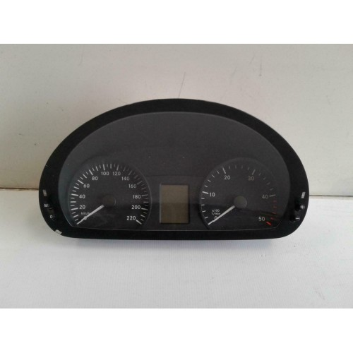 Mercedes Benz Vito Vin Decoder: MERCEDES VITO INSTRUMENT CLUSTER MANUAL T/M TYPE